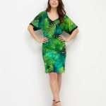 Ana Alcazar vihreä viidakkomekko2