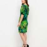 Ana Alcazar vihreä viidakkomekko3