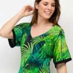 Ana Alcazar vihreä viidakkomekko4
