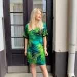 Ana Alcazar vihreä viidakkomekko5