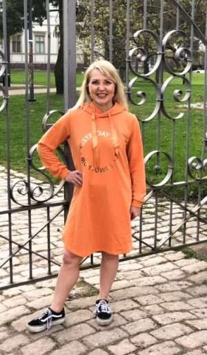 Ze-Ze Alaya huppari, oranssi