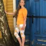 Ze-Ze Ninka-paita oranssi4