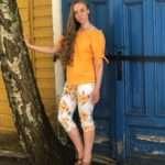 Ze-Ze Ninka-paita oranssi5