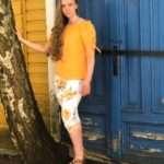 Ze-Ze Ninka-paita oranssi8